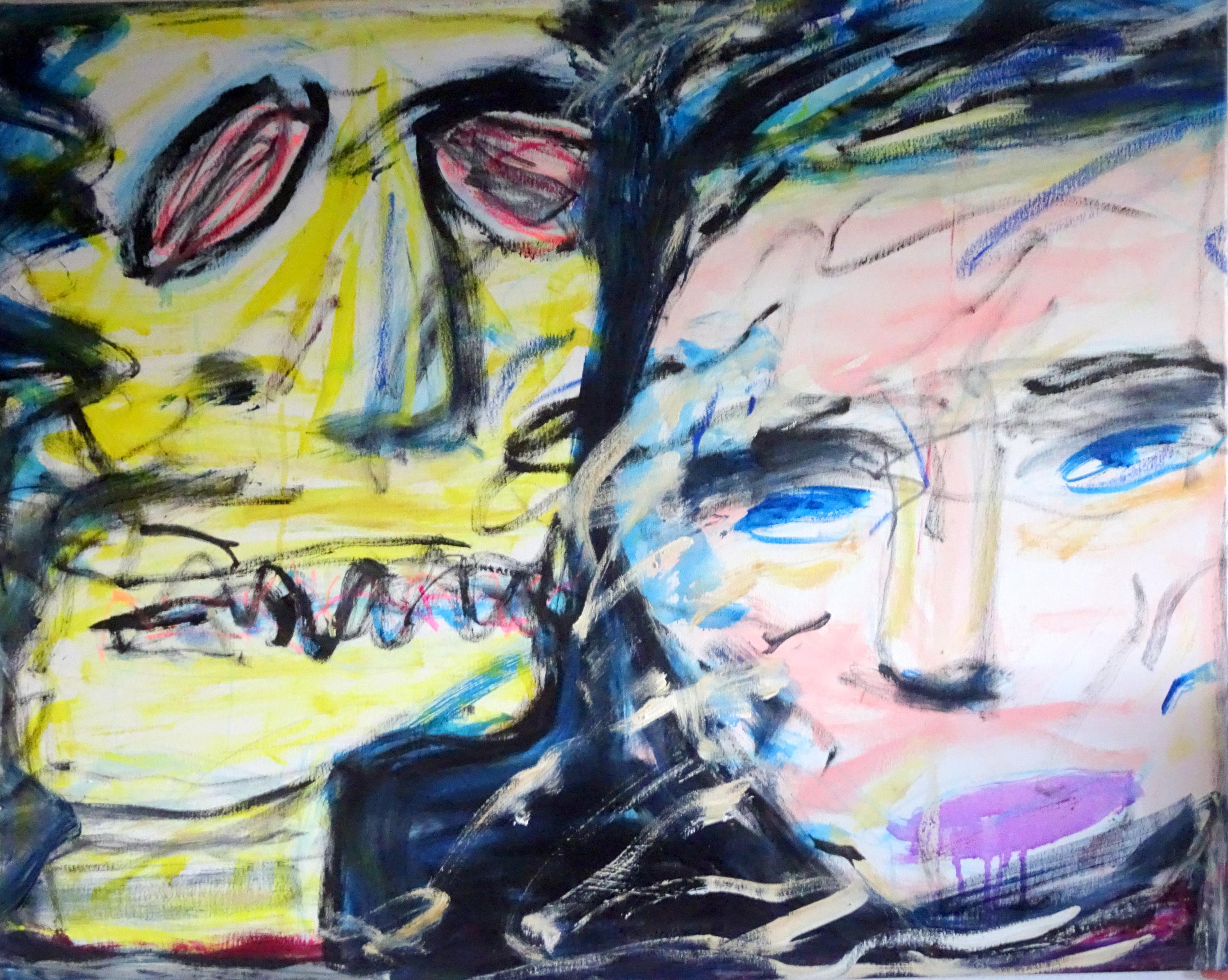 974   Alba Enstrøm   maleri